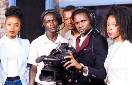 Nairobi Aviation media students