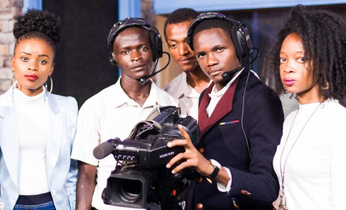 Nairobi Aviation media students