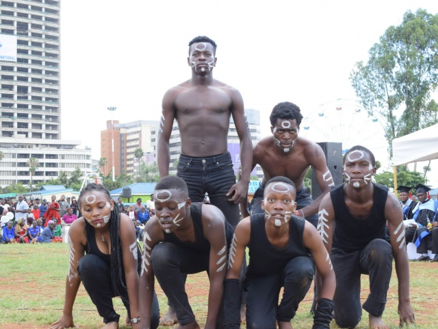 Nairobi Aviation drama students