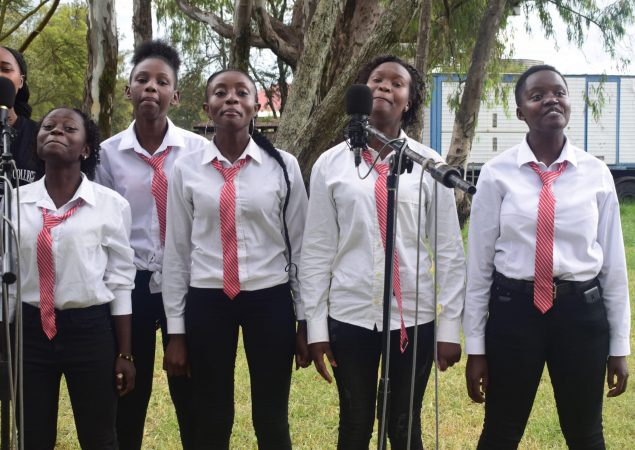 Nairibi Aviation college music students