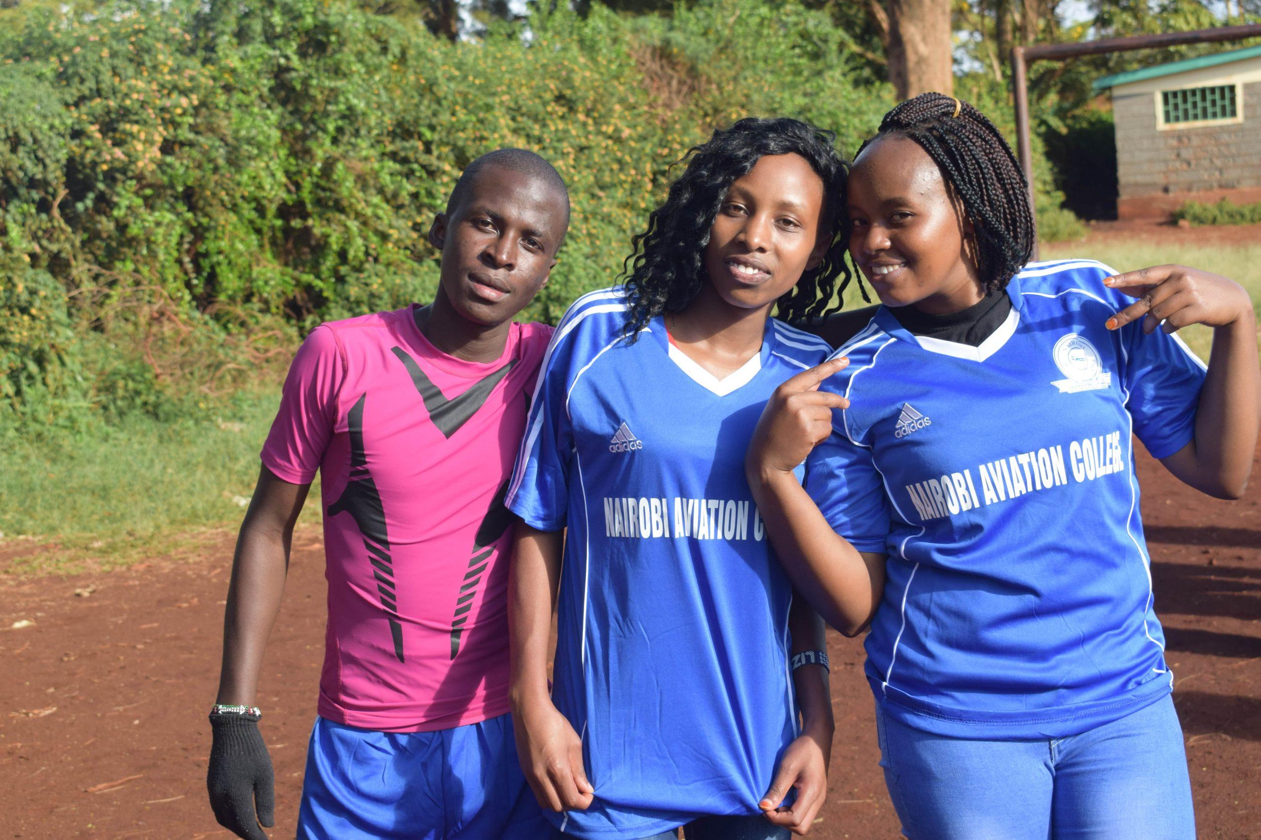 Nairibi Aviation college Fooball team