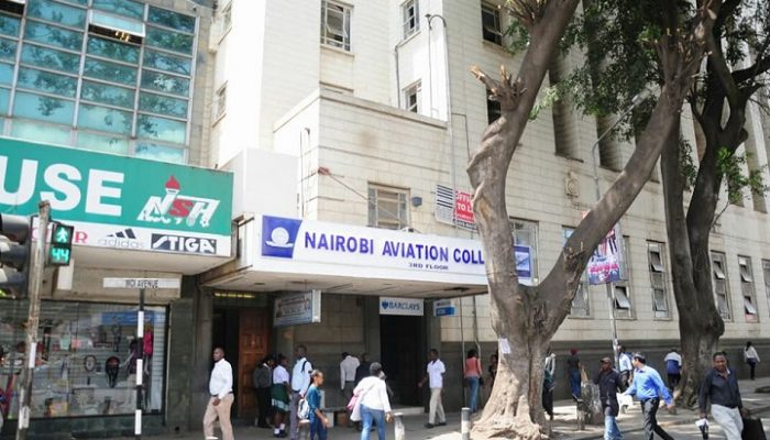 Nairobi aviation college bank house branch