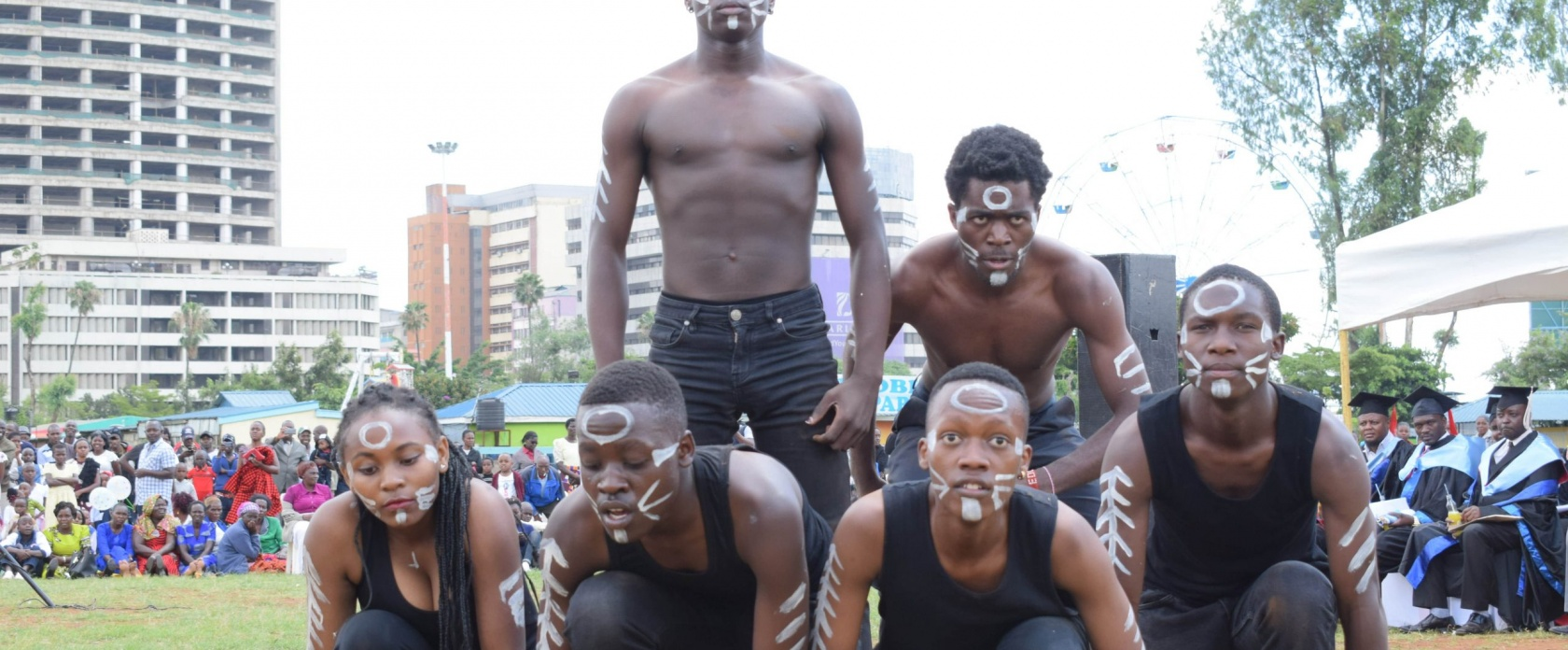 Nairobi Aviation drama students